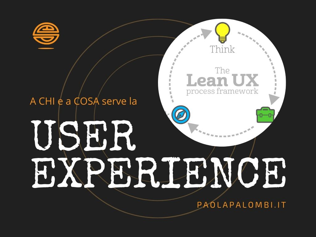 cosìè e a cosa serve la user experience cover