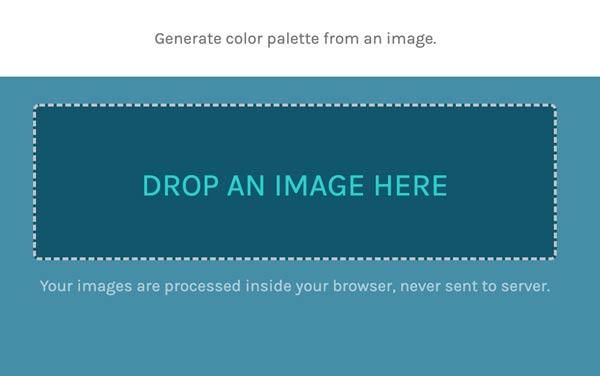 Creare Palette Colori da Immagini che ti piacciono - schermata esempio hd rainbow